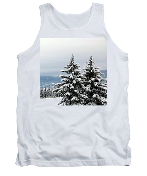 Tank Top featuring the photograph Winter Bliss by Will Borden