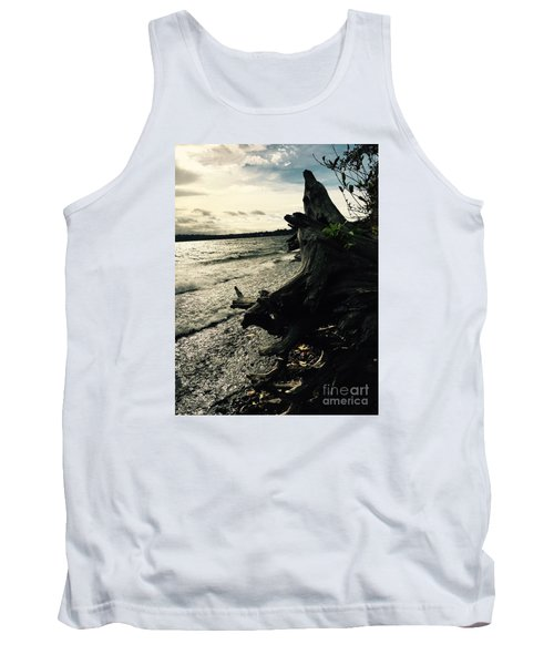 Winter Comes To The Sea Tank Top