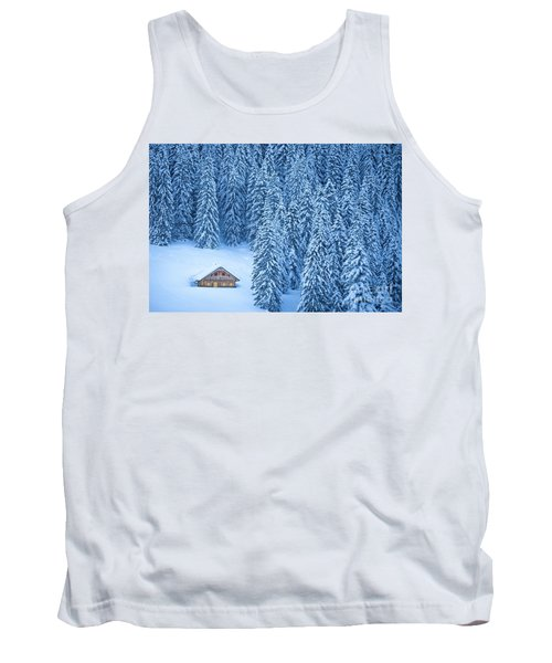 Winter Escape Tank Top by JR Photography