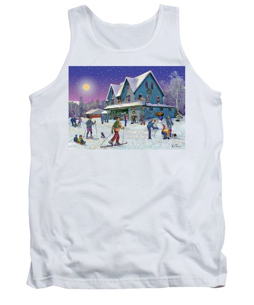 Winter In Campton Village Tank Top