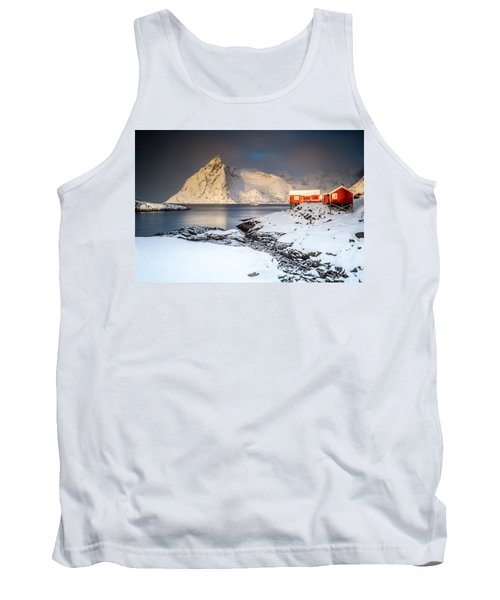 Winter In Lofoten Tank Top