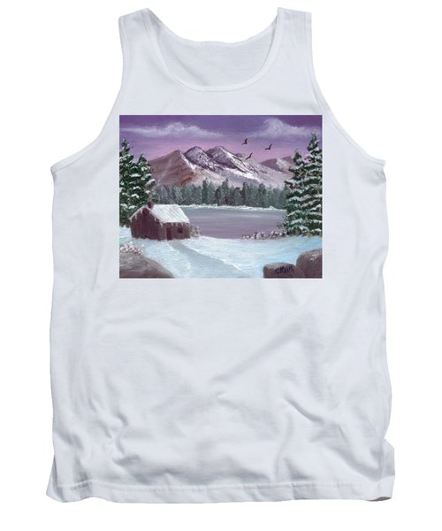 Winter In The Mountains Tank Top