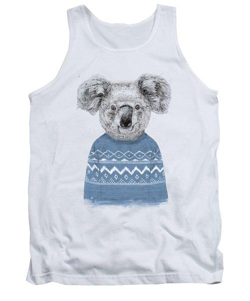 Winter Koala Tank Top