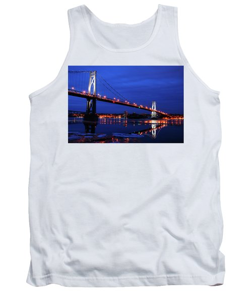 Winter Refelctions Tank Top by James Kirkikis