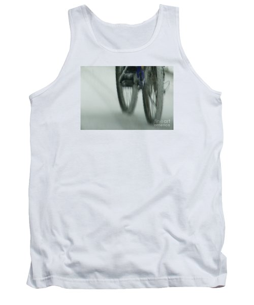 Winter Ride Tank Top by Linda Shafer