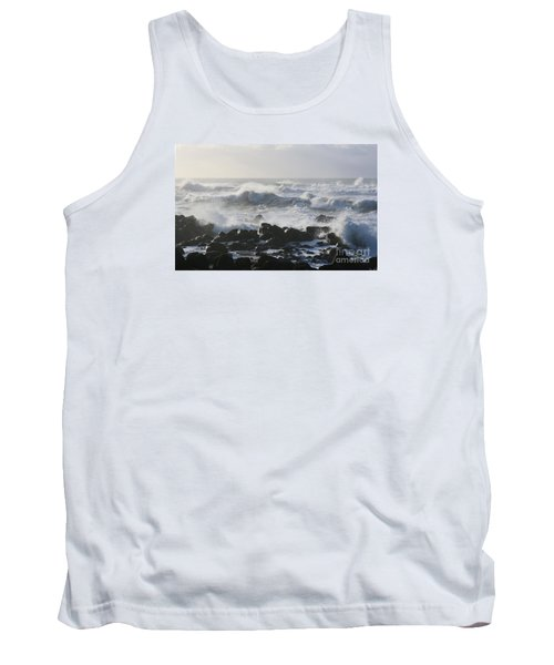 Tank Top featuring the photograph Winter Sea by Jeanette French