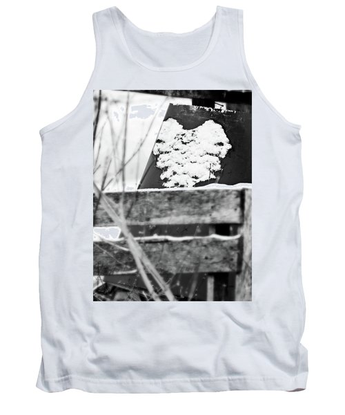 Winter Snow Heart Tank Top