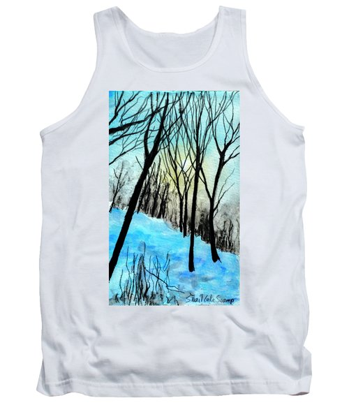 Winter Sunlight Tank Top