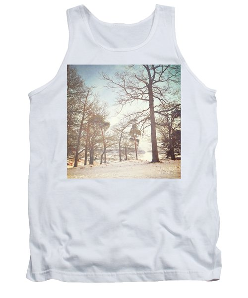 Tank Top featuring the photograph Winter Trees by Lyn Randle