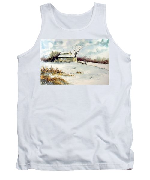 Winter Washday Tank Top