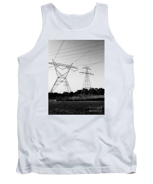 Wire Line Tank Top