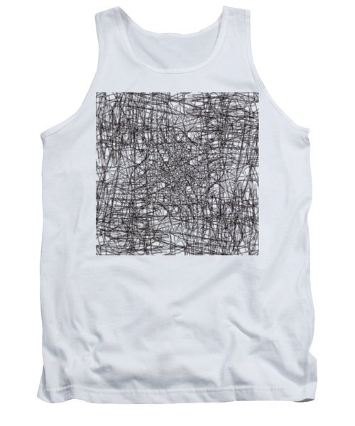 Wired Abstraction Tank Top by Eleonora Perlic