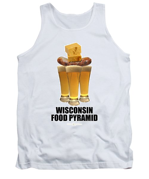 Wisconsin Food Pyramid Tank Top