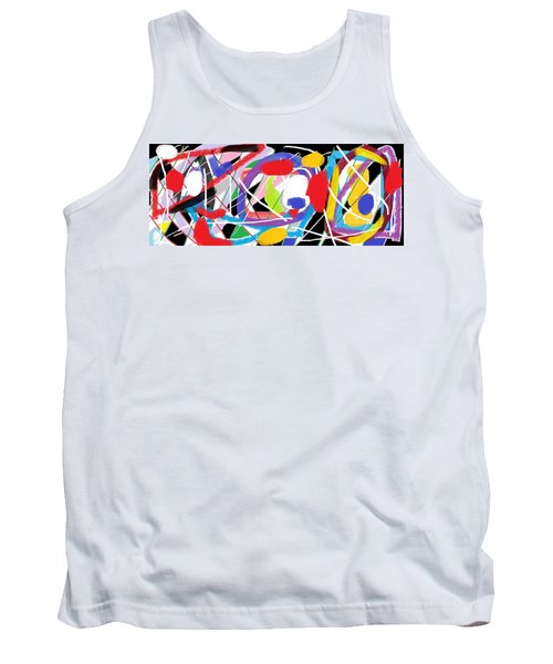 Wish - 43 Tank Top by Mirfarhad Moghimi
