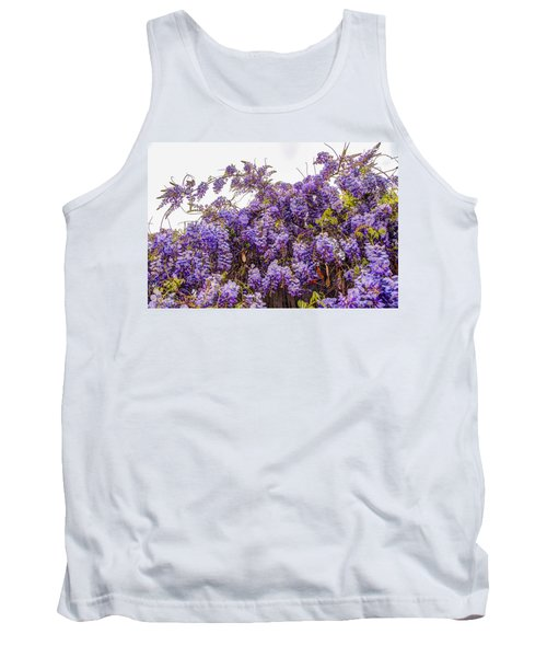 Wisteria Spring Bloom Tank Top
