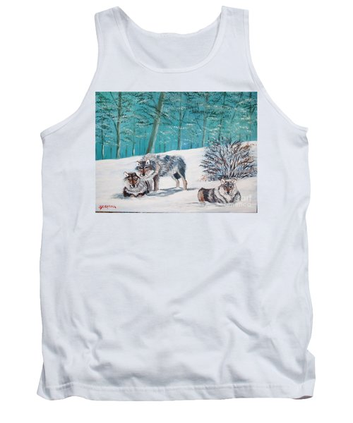 Wolves In The Wild Tank Top