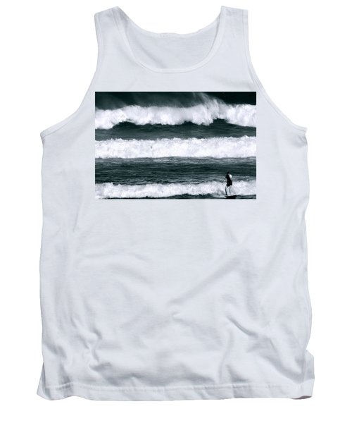 Woman Surfer Tank Top