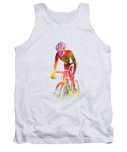 Woman Triathlon Cycling 04 Tank Top