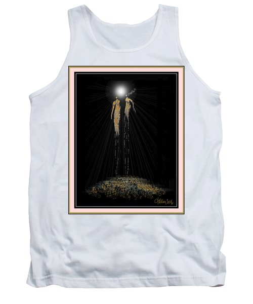 Women Chanting - Full Moon On The Mountain Tank Top