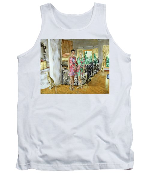 Women In Sunroom Tank Top