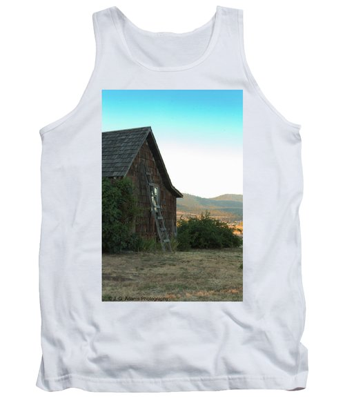 Wood House Tank Top