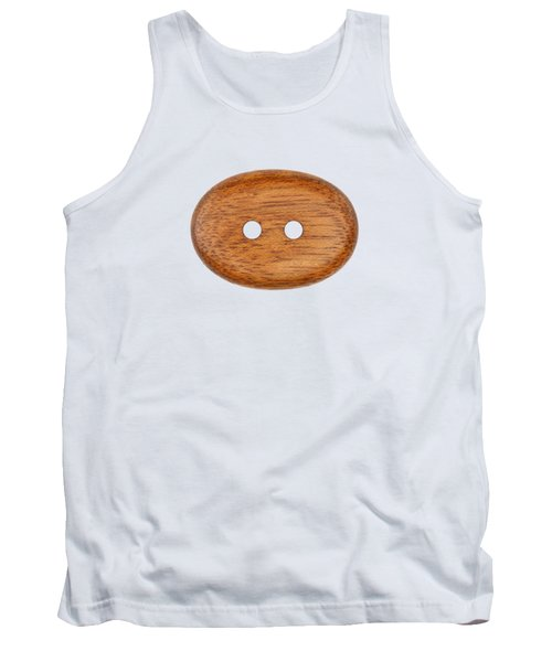 Tank Top featuring the photograph Wooden Button by Michal Boubin