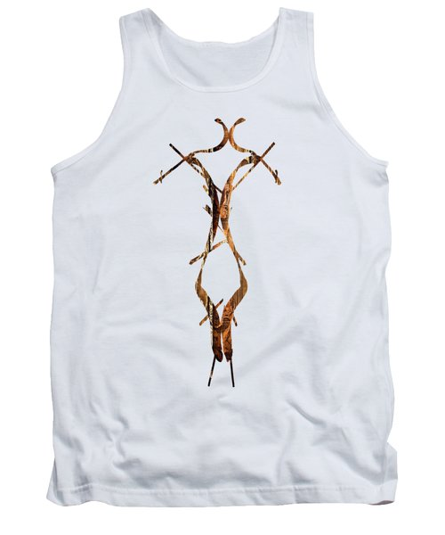 Wooden Figure Tank Top