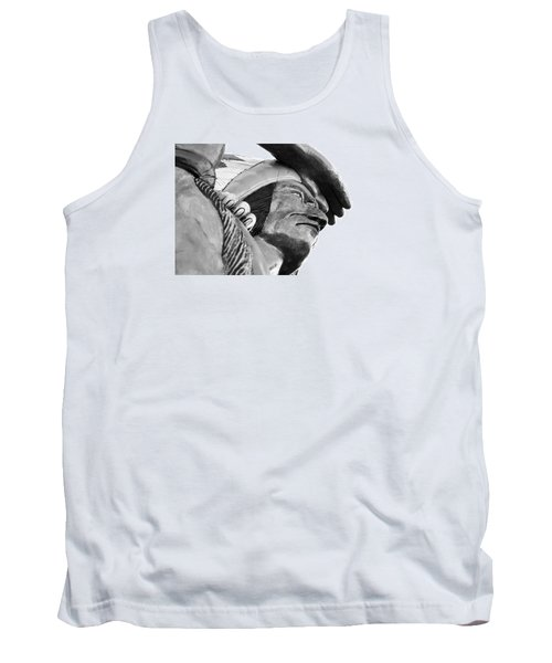 Tank Top featuring the photograph Wooden Indian by Bob Pardue