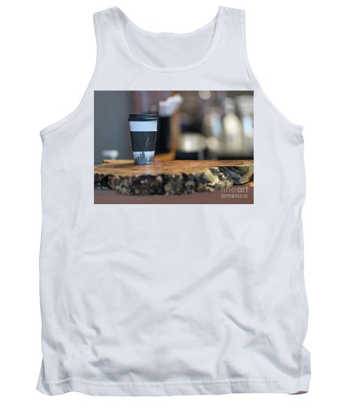 Tank Top featuring the photograph Woods Coffee by Jim  Hatch