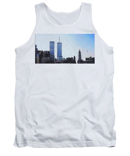 World Trade Center Once Upon A Time... Tank Top