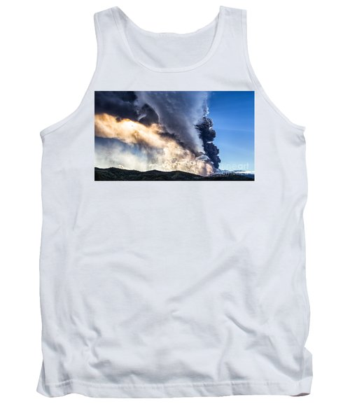 Wrath Of Nature Tank Top by Giuseppe Torre