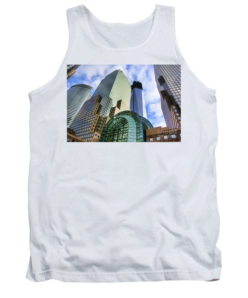 Wtc Nyc Construction I Tank Top