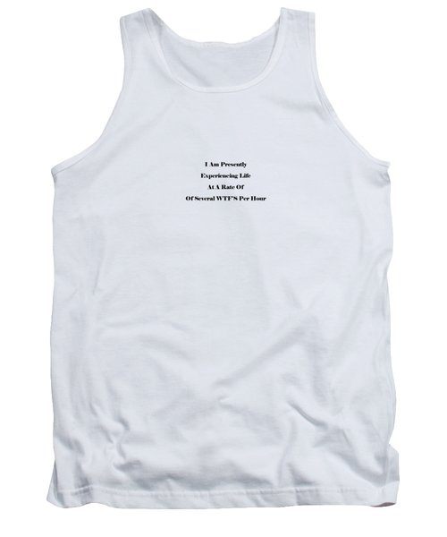 WTF Tank Top by Pat Cook