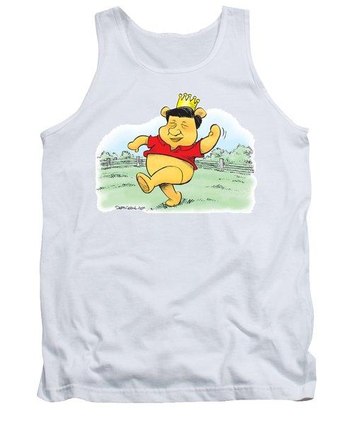 Xi The Pooh Tank Top