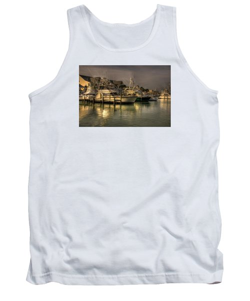 Yachts In Hdr Tank Top