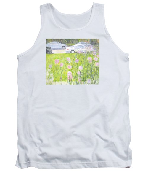 Yard Flowers  In Chicago Tank Top