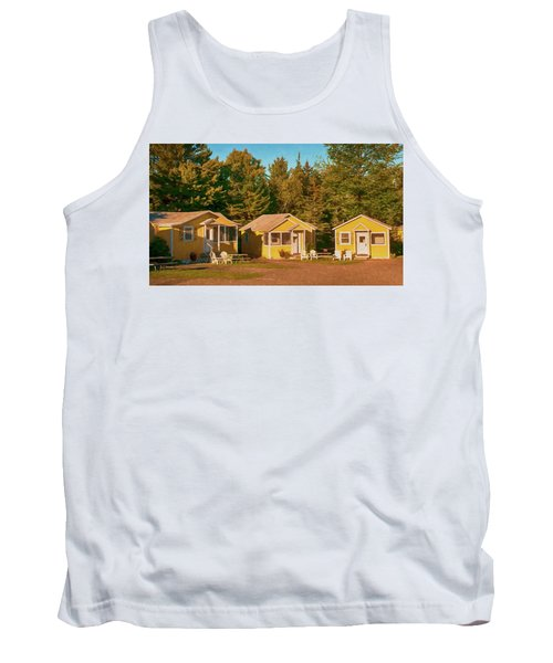 Yellow Cabins Tank Top