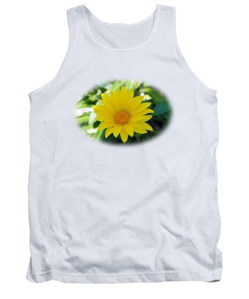 Yellow Flower T-shirt Tank Top