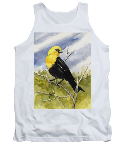 Yellow-headed Blackbird Tank Top