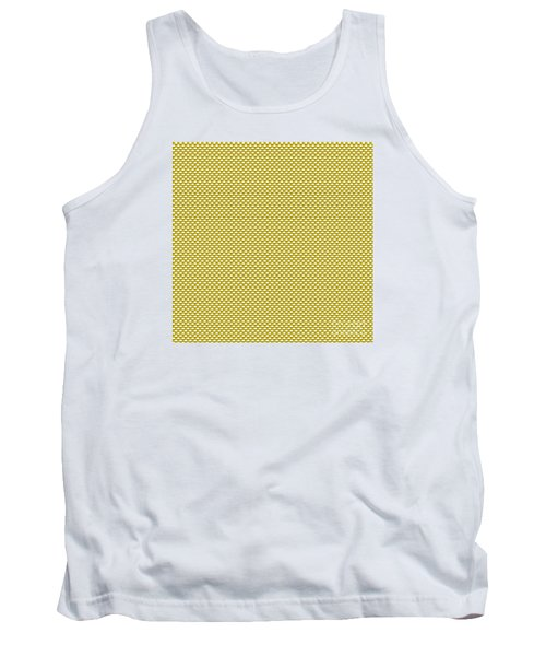 Yellow Weave Tank Top