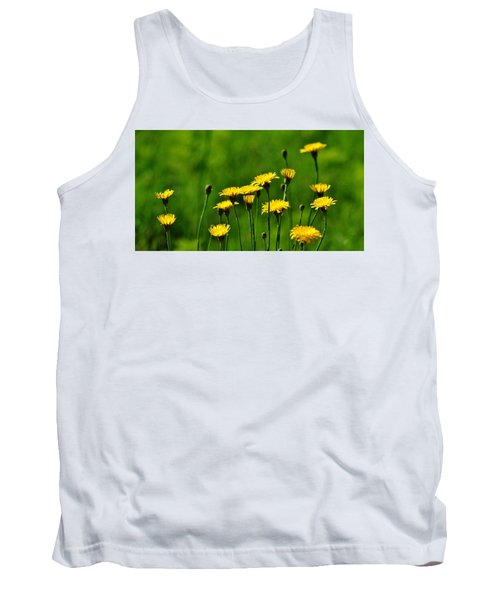 Yellow Wildflowers Tank Top