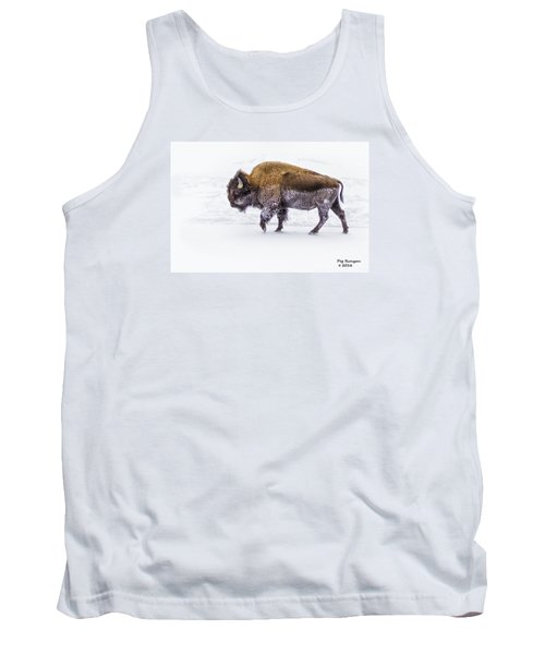 Yellowstone Bison Tank Top