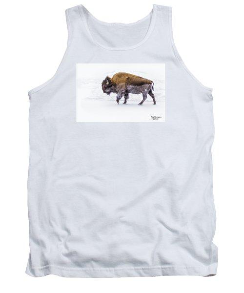 Yellowstone Bison Tank Top