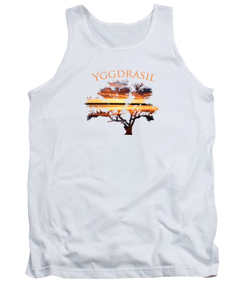 Yggdrasil- The World Tree 2 Tank Top