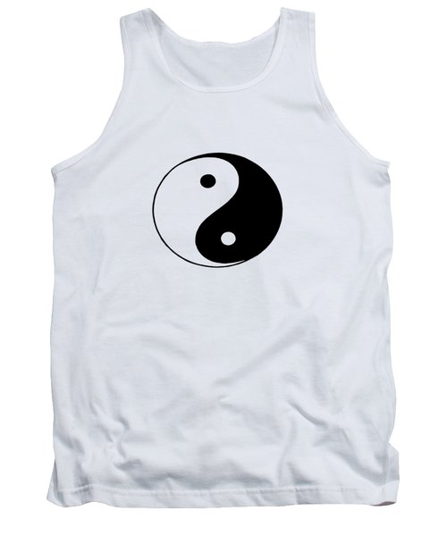 Yin And Yang Tank Top by Pat Cook