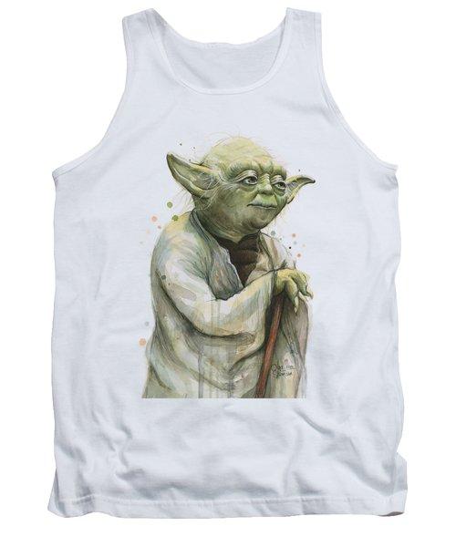Yoda Portrait Tank Top