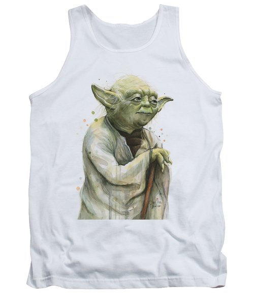 Yoda Portrait Tank Top