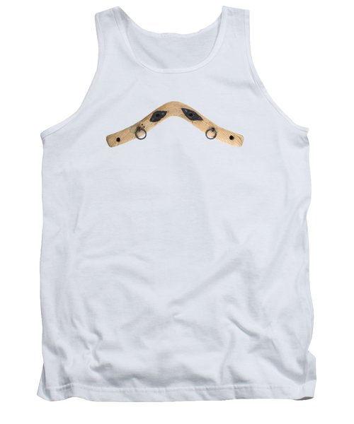 Tank Top featuring the photograph Yoke - Part Of Harnesses For The Draft Animals by Michal Boubin