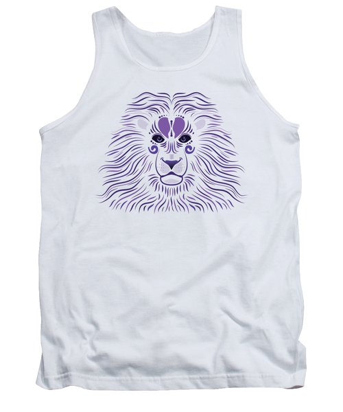 Yoni The Lion - Light Tank Top