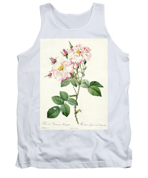 York And Lancaster Rose Tank Top